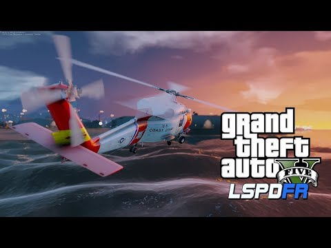 GTA 5 LSPDFR USCG Coastal Callouts  👉 Sinking Ship  👉 SAR MISSION 👉 EP3