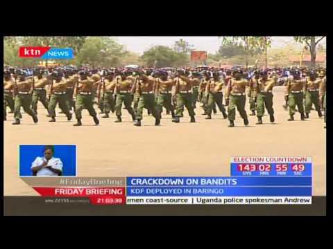 President Uhuru has ordered security operations in Baringo, Elgeyo Marakwet and Laikipia counties