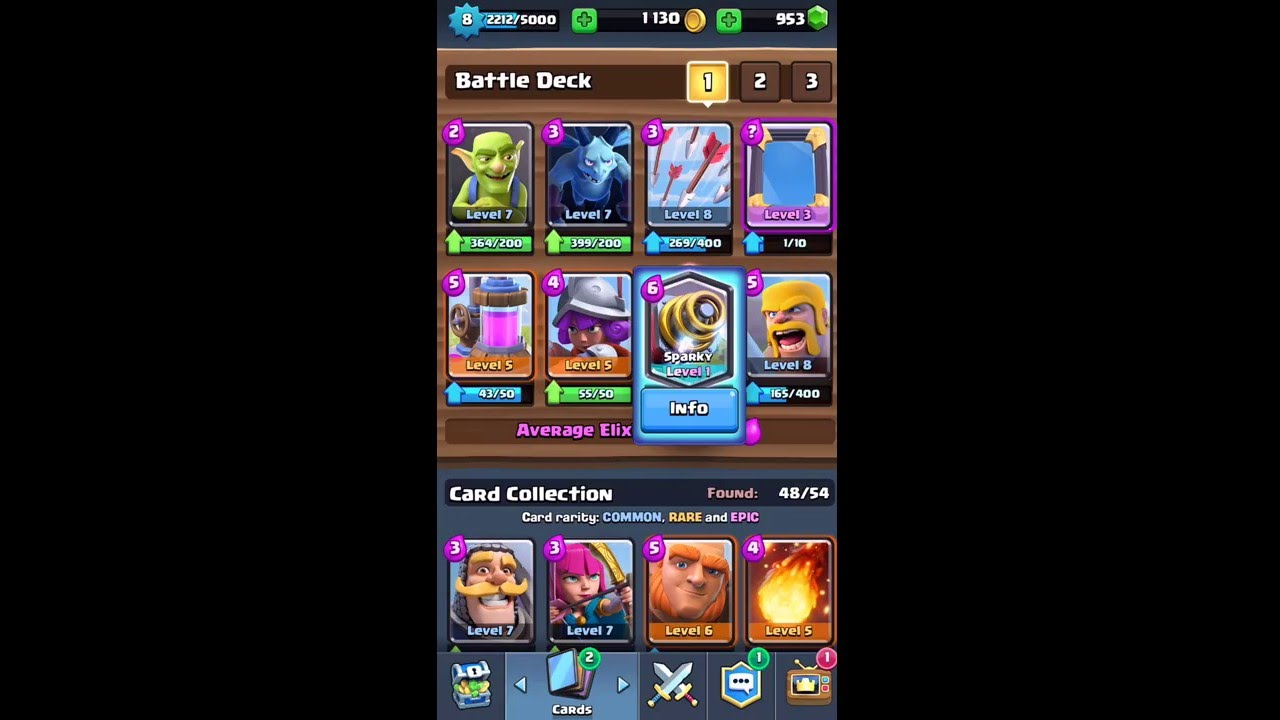Clash Royale - SPARKY UNLOCKED WITH FREE CHEST! LUCKIEST CHEST EVER ...
