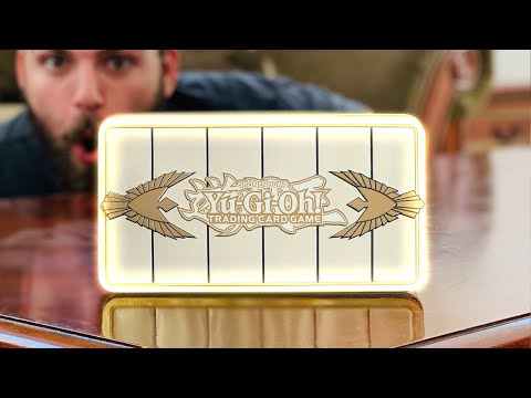 Opening the *MOST GODLY* Yu-Gi-Oh! Tin EVER Made!