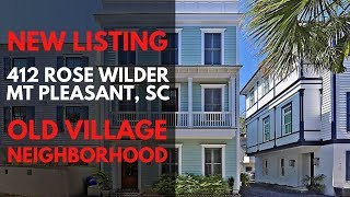 412 Rose Wilder Lane Mt Pleasant SC IPhone Tours with Bob
