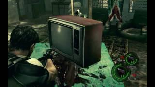 Resident Evil 5 gameplay uncut