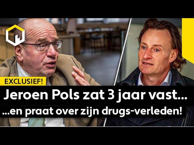 EXCLUSIEF: Jeroen Pols zat 3 jaar vast en praat over zijn drugsverleden!
