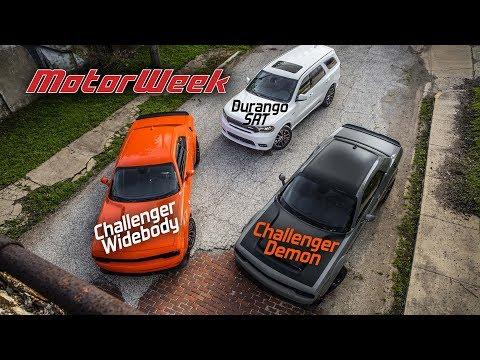 This Just In: 2018 Dodge Demon, Durango SRT, and Challenger Widebody