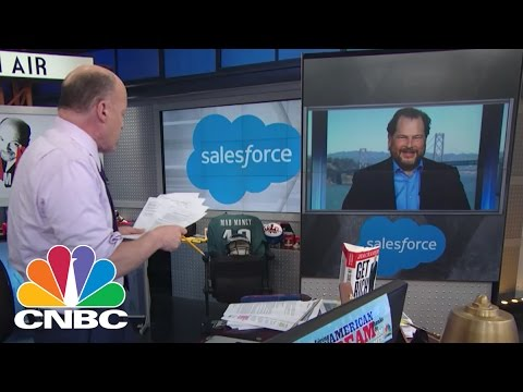 Salesforce CEO Marc Benioff: Crushing Oracle | Mad Money | CNBC