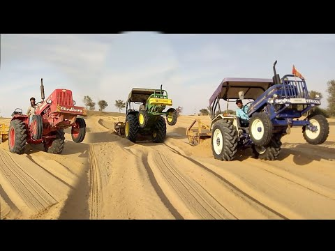 Amazing Danger Tractor Stunt Video Village Raju Ki Masti