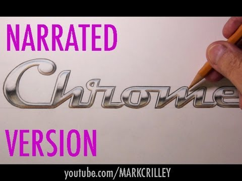 How to Draw Chrome Effects (For Lettering, Logos, etc)