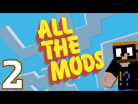 Saph Plays All the Mods Minecraft 1.10+ Modpack - Ep. 02 - A Mining Stream [Live Stream Archive]