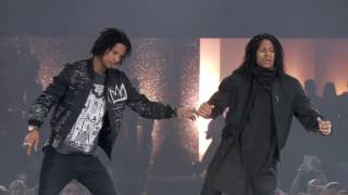 Les Twins THE DANCE 2016 Urban Dance Competition PERFORMANCE in Zürich HD