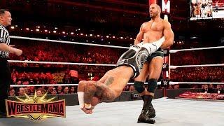 Cesaro relentlessly swings Ricochet in furious Fatal 4-Way: WrestleMania 35 (WWE Network Exclusive)