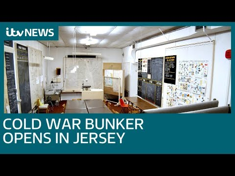 Cold War Bunker opens in Jersey   ITV News