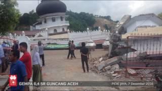 Gempa Pidie Jaya, Aceh - 7 Desember 2016