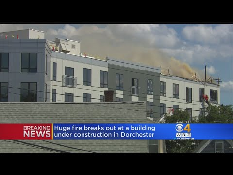 Huge Fire Breaks Out At Dorchester Condo Building
