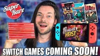 7 New Upcoming Nintendo Switch Games By Super Rare!