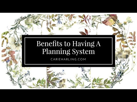 Six Benefits to Having a Planning System