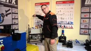 видео Оборудование для обработки токопроводящих шин - шиногибы
