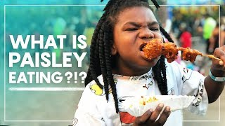 What is Paisley Eating?!? | Texas State Fair
