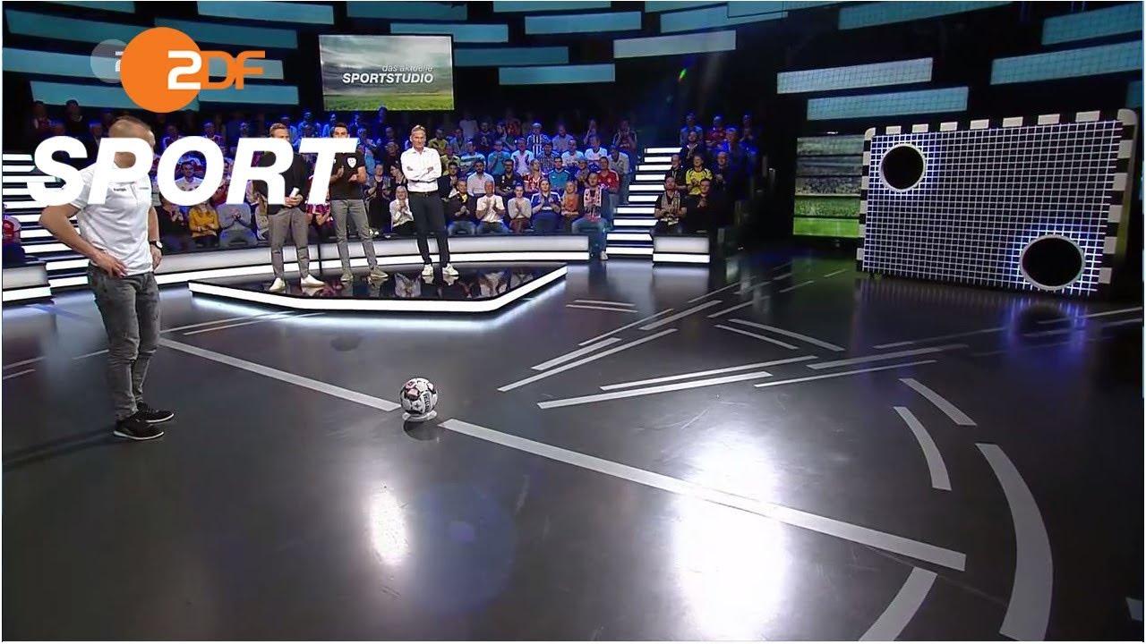Torwandschießen mit Watzke und Stäbler | das aktuelle sportstudio - ZDF