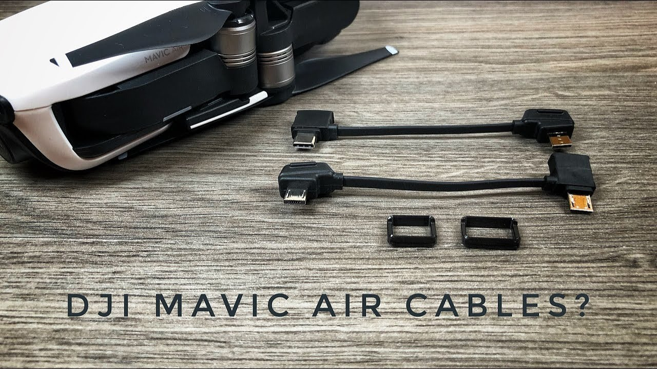 Dji Mavic Air Usb Cables Explained Youtube Samsung Cable Wiring Diagram Free About And