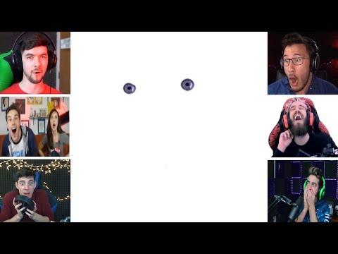 Let's Players Reaction To Monika Moving The Mouse | Doki Doki Literature Club