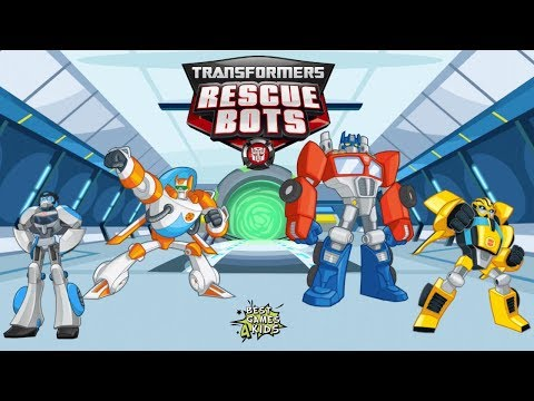 TEAM the Rescue Bots together! | Transformers Rescue Bots: Disaster Dash Hero Run #142 By Budge