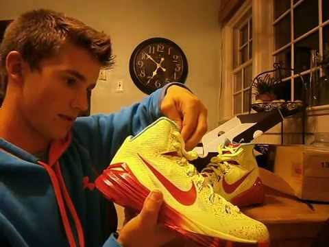 separation shoes 538aa e250d 2014 Custom Nike ID Hyperdunks (unboxing) - YouTube