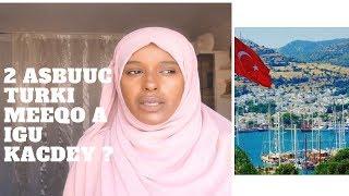 14 MALIN AN JOOGEY TURKI MEEQO AA IGU BAXDEY !?  :INFORMATION KA AD RABTEEN OO DHAN