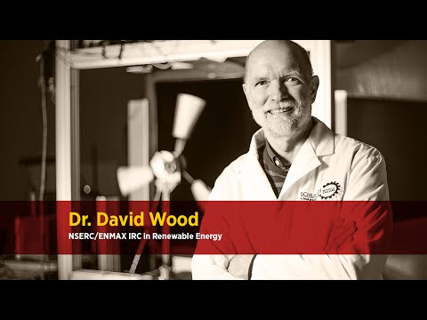 Dr. David Wood, NSERC/ENMAX IRC in Renewable Energy