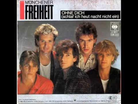 Münchener Freiheit - Ohne Dich (Schlaf Inch Heut Nacht Nicht Ein)(Maxi Version)