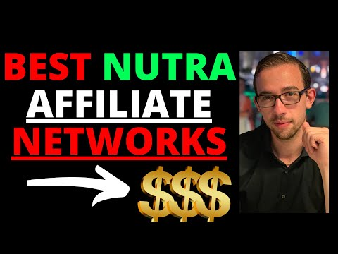 The Best Nutra Affiliate Networks