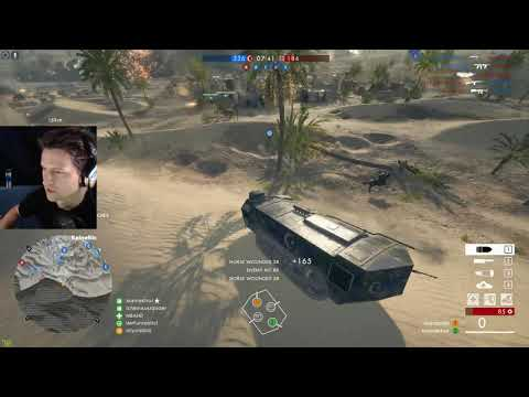 Battlefield 1 - Suez   St Chamond And Artillery Truck