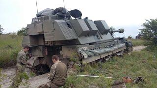Royal Artillery heavy armour (British Army, AS90, CRARRV)