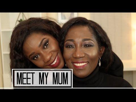 MEET MY NIGERIAN MUM & MAKEOVER | AdannaDavid