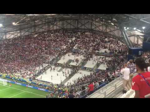 Riots Euro 2016 Marseille - England vs. Russia stadium