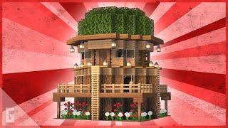 Minecraft Tree Survival Base TUTORIAL