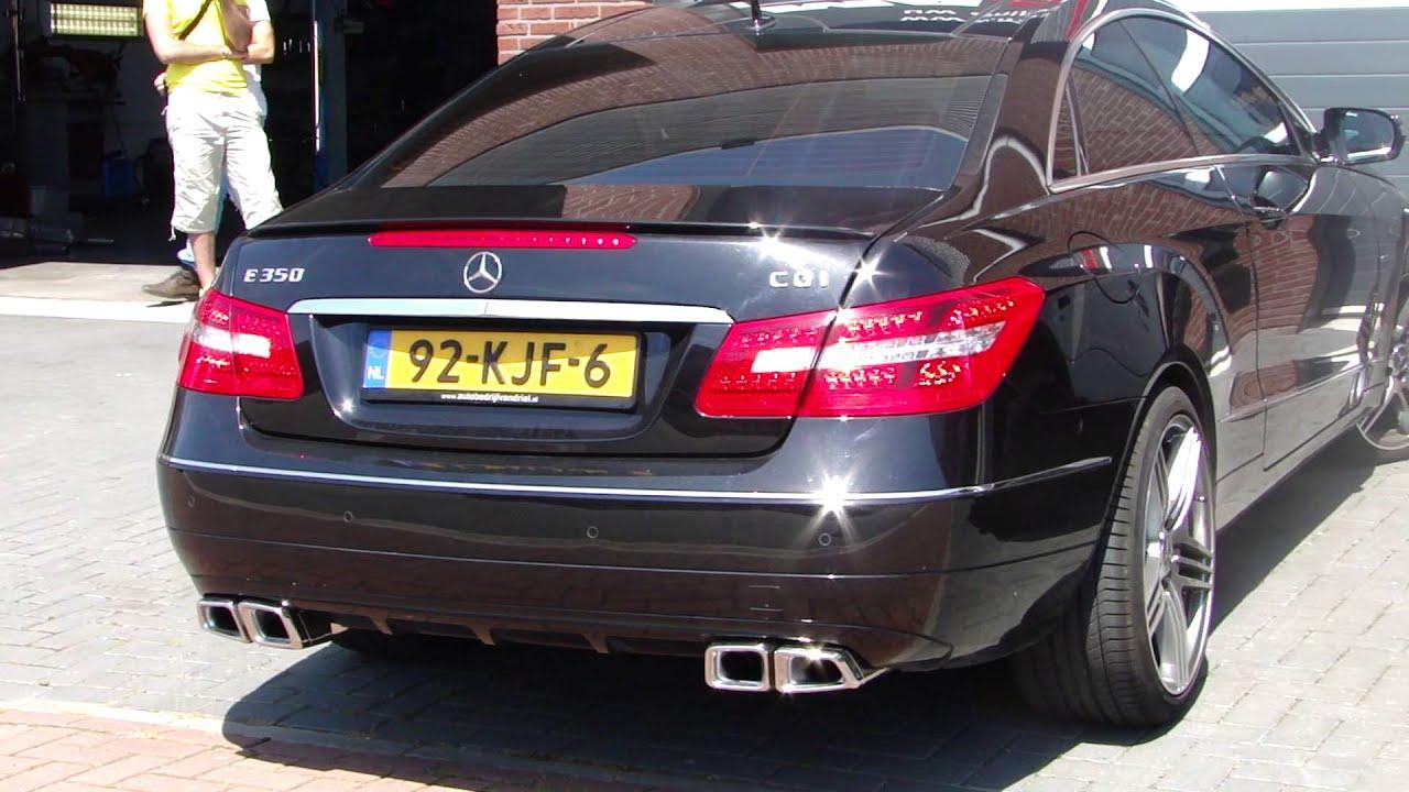 Mercedes E30 Cgi W212 Amg Look Exhaust Sportuitlaat Uitlaat By Www