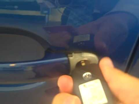 How To Manually Unlock Your Vw With The Hidden Key Hole