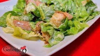 Reteta De Salata Caesar Cu Pui