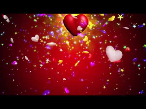 Moving Love Heart Animation