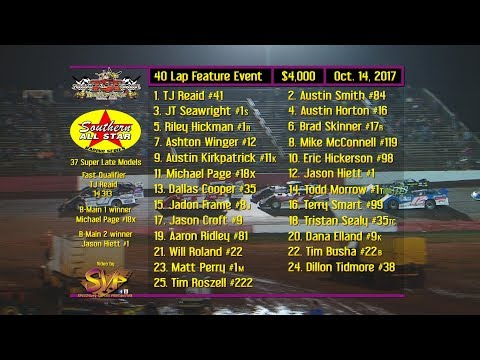 SAS $4,000 @ Talladega Short Track Oct  14 , 2017