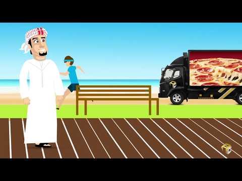 LED Truck Advertising - First in Dubai!