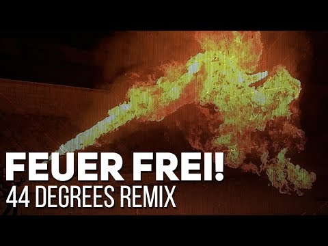 Rammstein - Feuer Frei! (44 degrees remix by Alambrix feat. VanValia) [Unofficial]
