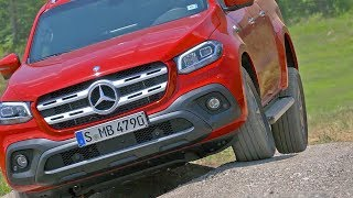 Mercedes X-Class Pickup (2018) Off-Road Test Drive