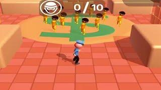 Atrapa al ladron - Catch the thief 3d. Gameplay #1