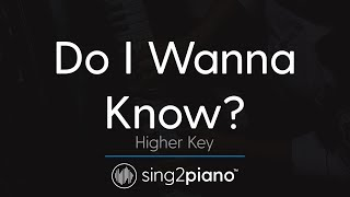 do I wanna know arctic monkeys piano karaoke