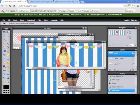 Bài 61 : Làm bìa nâng cao 10 ♫ Photoshop Online Nâng Cao ♫