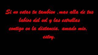 Contigo En La Distancia Cristina Aguilera  Letra