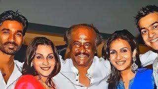 Rajinikanth Family Photos - Super Star Rajinikanth with Wife, Daughters Pictures