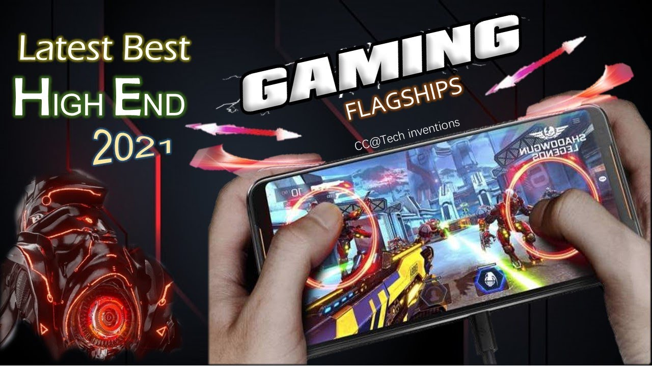 TOP 5 High End Gaming Flagships 2021 | Latest Gaming Phones 2021