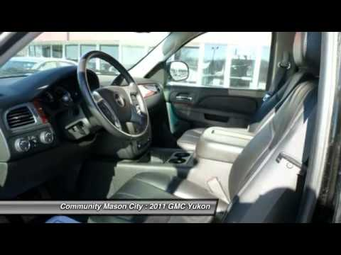 2011 gmc yukon mason city ia g795a youtube for Community motors mason city